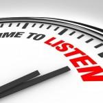 Niet oordelen maar luisteren. Neem de tijd!
